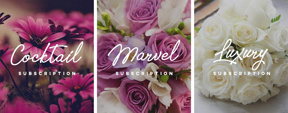 Flower Habit – Weekly Flower Subscription