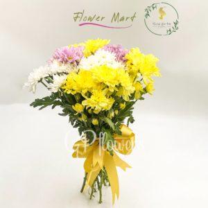 chrysanthemum mix flower stems